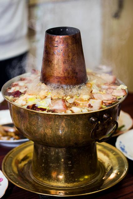 Tradicionálisan elkészített kínai ételek