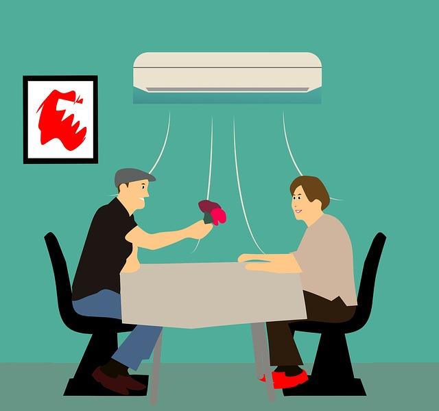 Légkondicionáló fűtésre és hűtésre