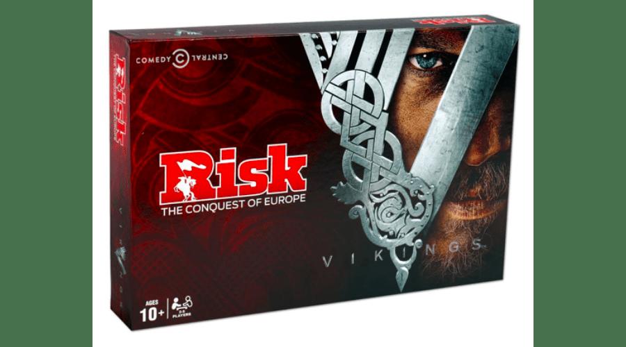 Rizikó társasjáték a Vikingek földjén